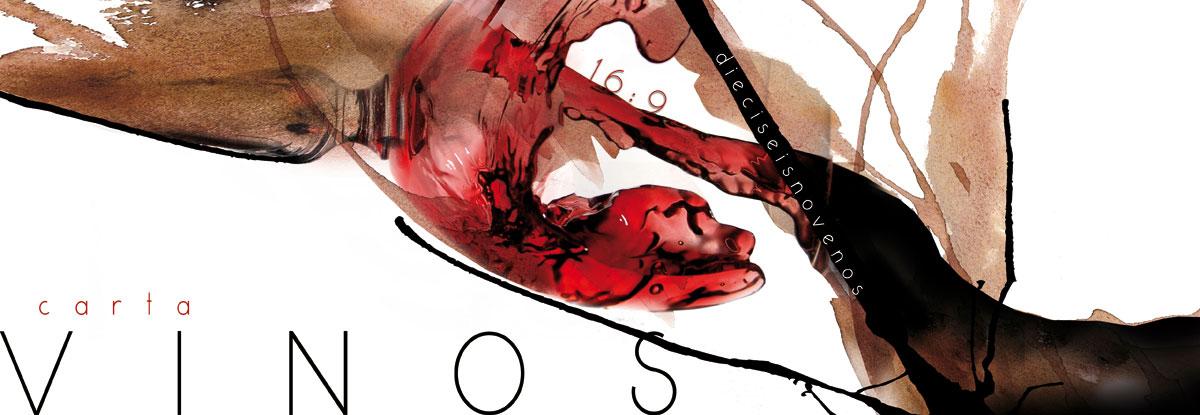 portada carta de vinos restaurante