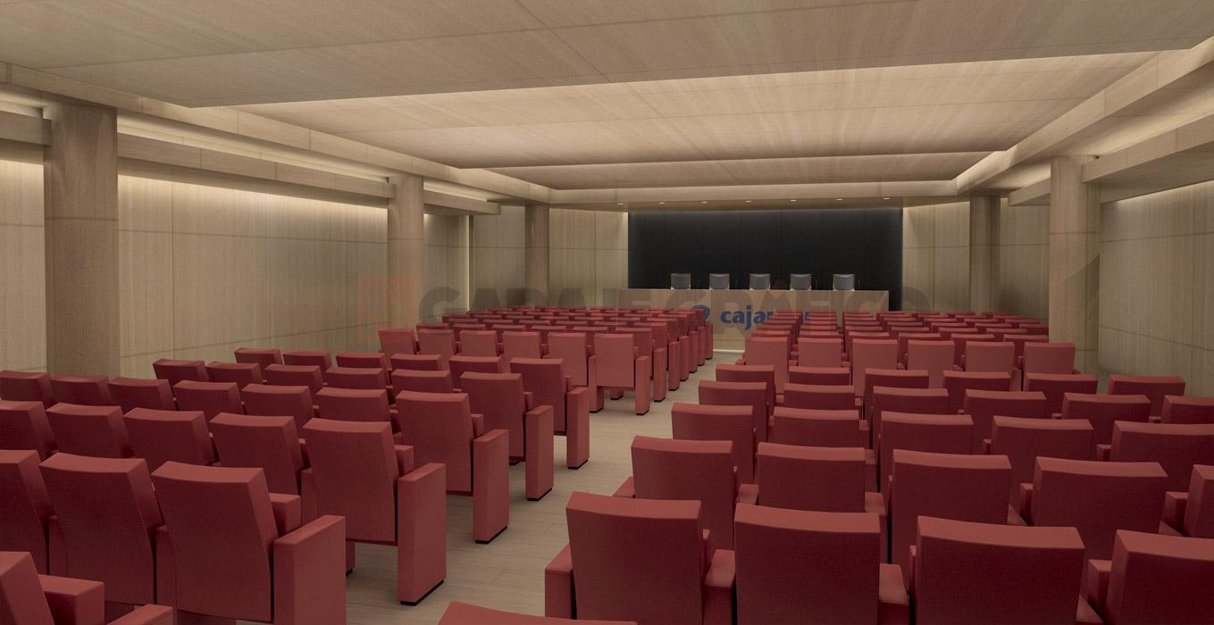 render 3d interior sala