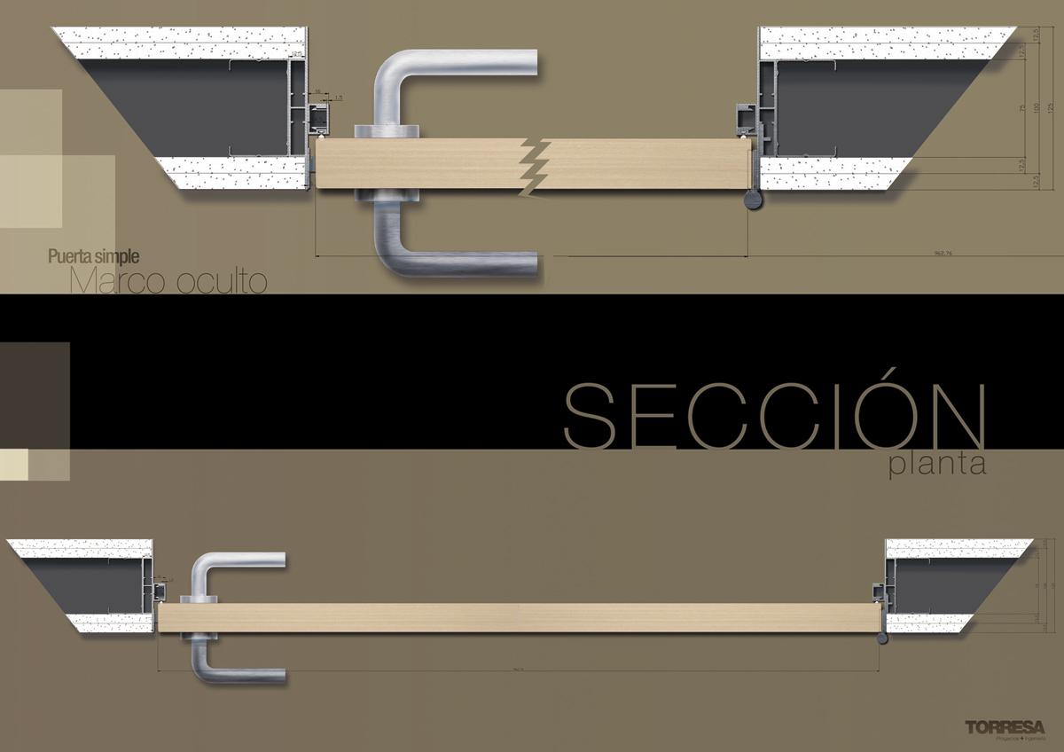 diseño y maquetacion cataologo puertas