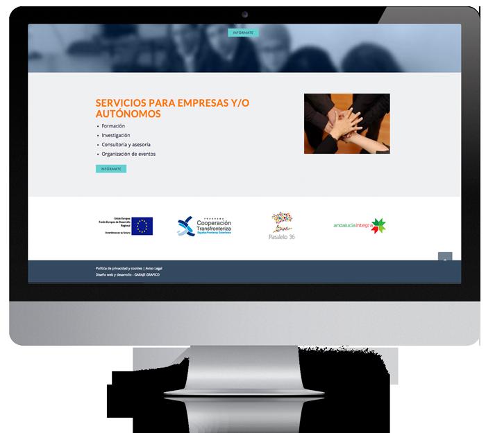 proyectos web diseño moderno almeria Garaje Grafico