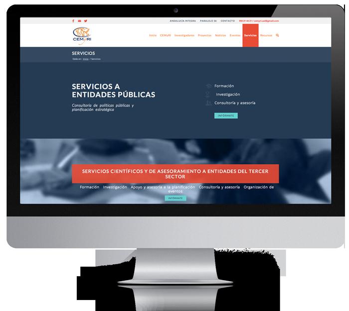 diseño web Garaje Grafico