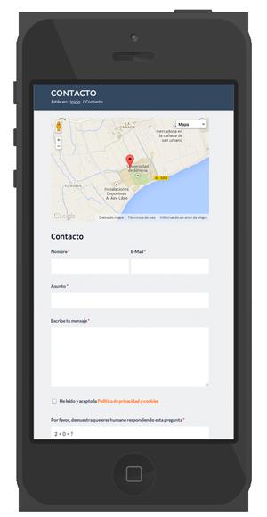 diseño moderno web almeria