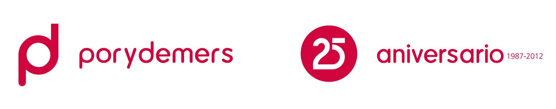 Logotipo de empresa aniverario