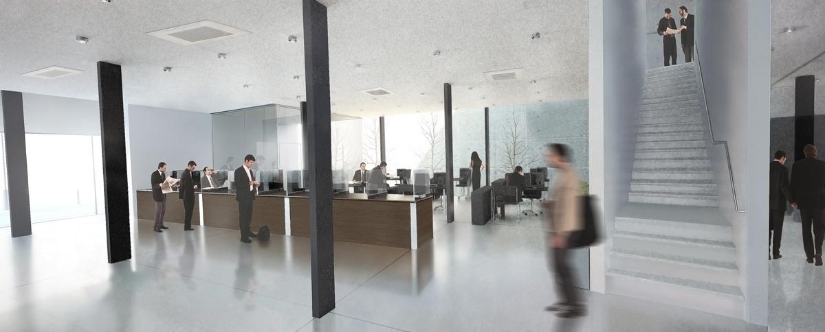 interiores 3d proyectos oficinas