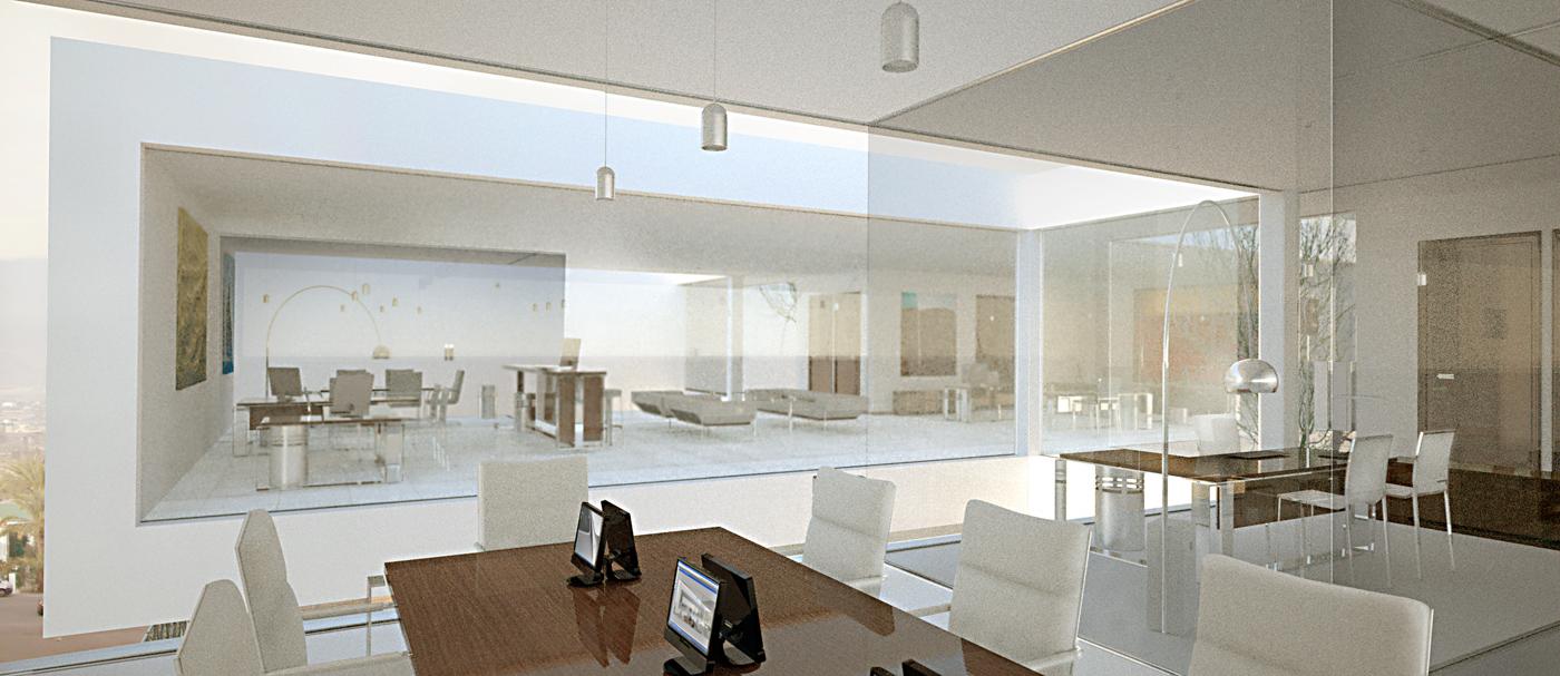 interiores 3d diseño y oficinas