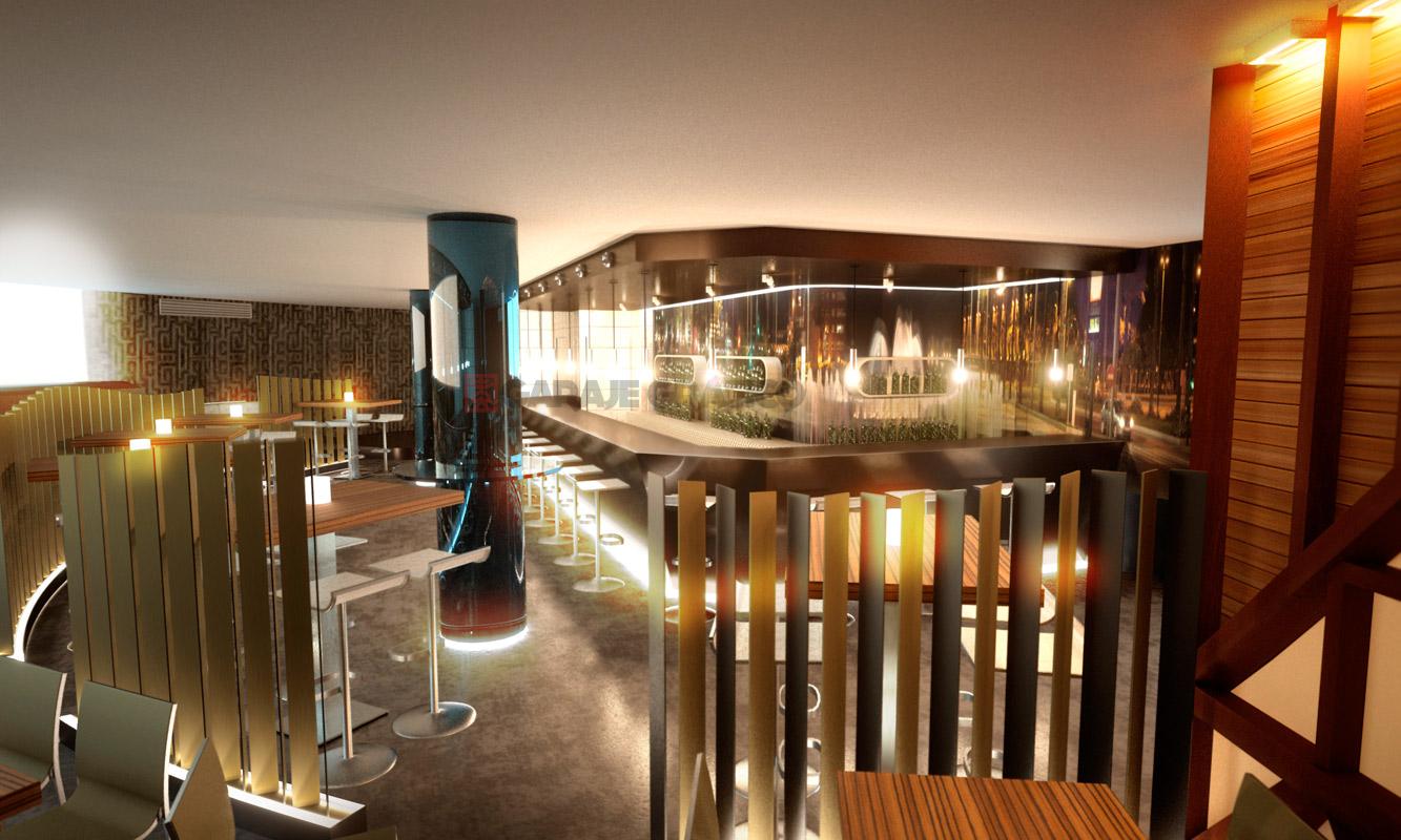 diseño y decoracion interior 3d para locales