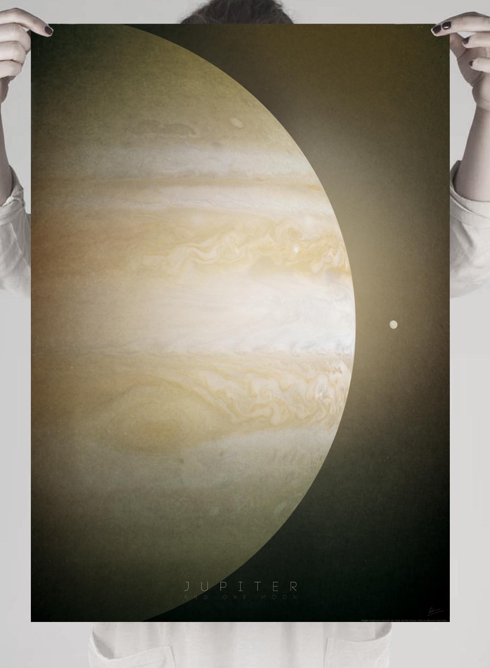 jupiter planetas imprimir en poster