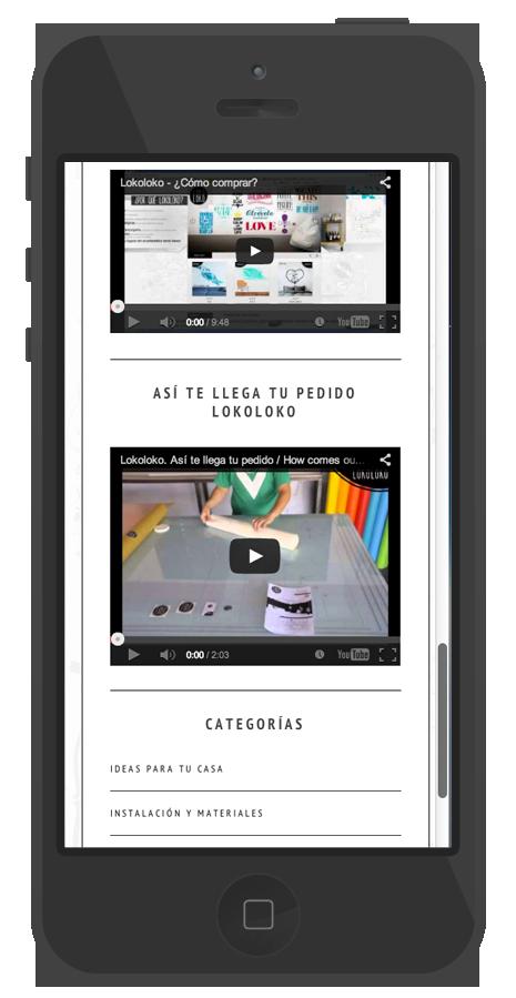 presentacion pagina web diseño moderno