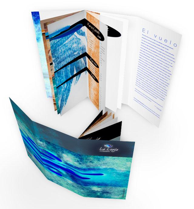 diseño grafico publicitario folletos informativos