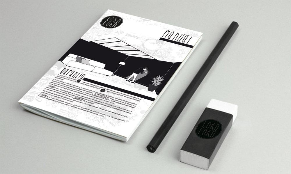 papeleria diseño lokoloko