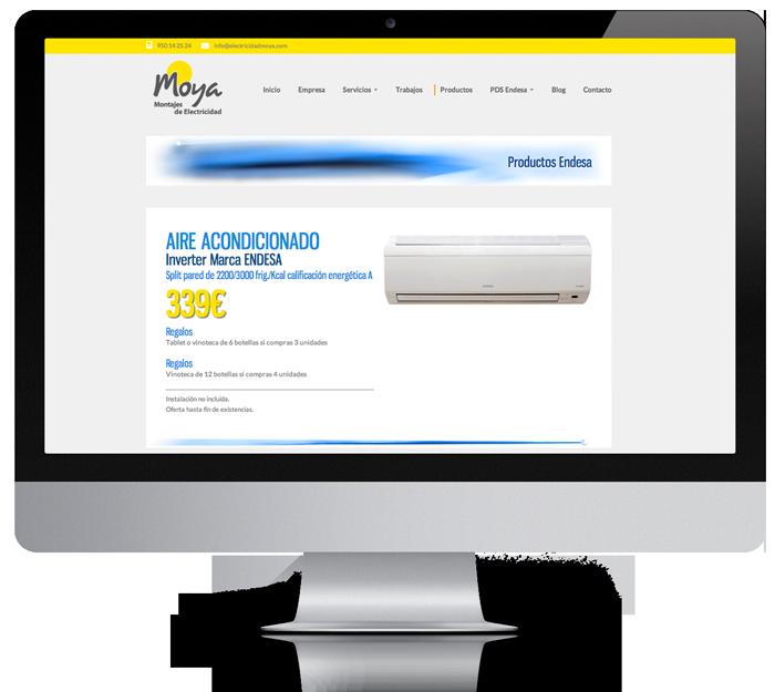 diseño moderno web