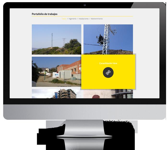 realizacion de paginas web diseño almeria Garaje Grafico