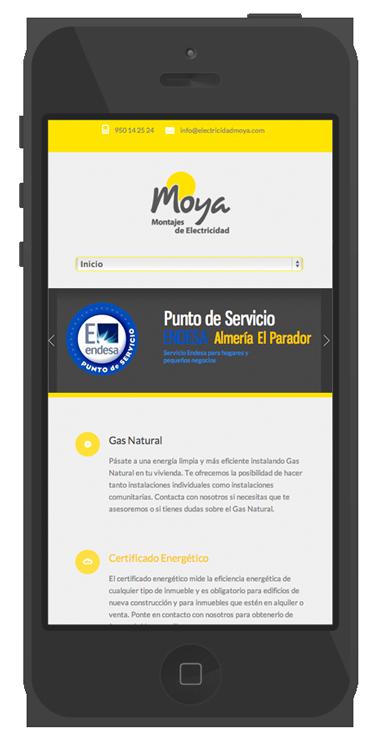 diseño moderno paginas web movil