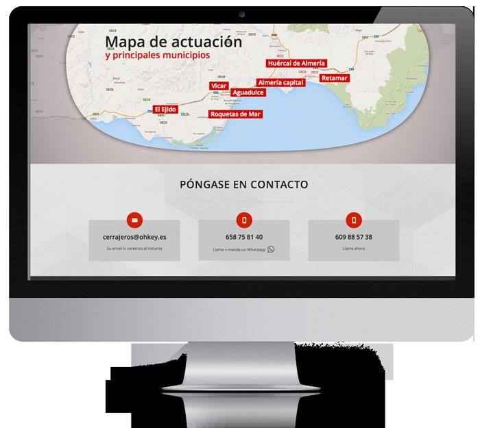diseño web pagina de presentacion almeria