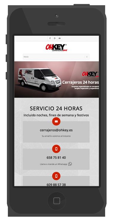 pagina de presentacion empresas diseño web