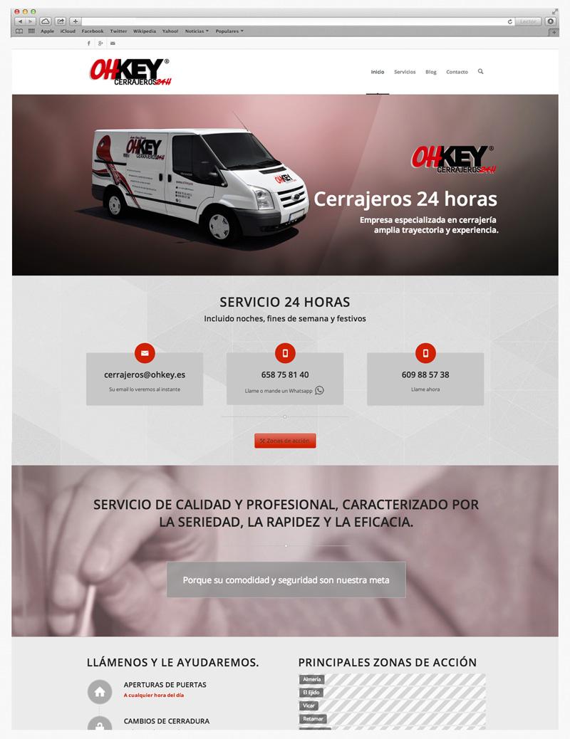 creacion paginas web almeria Garaje Grafico