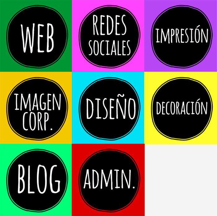 iconos diseño grafico