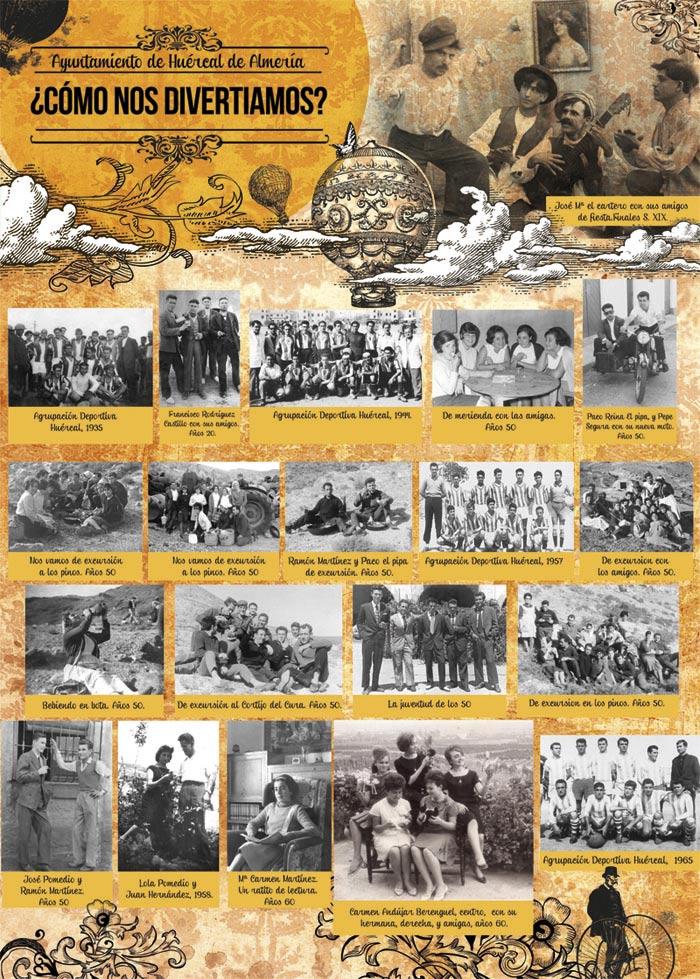 diseño grafico exposicion fotografias antiguas almeria