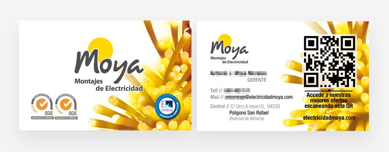 publicidad y diseño grafico tarjetas de visita