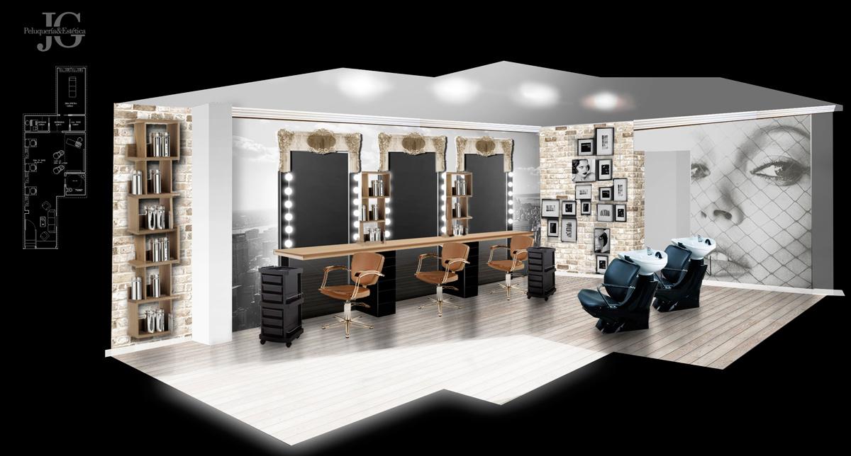 Jerez garc a garaje grafico for Disenos de espejos para peluqueria