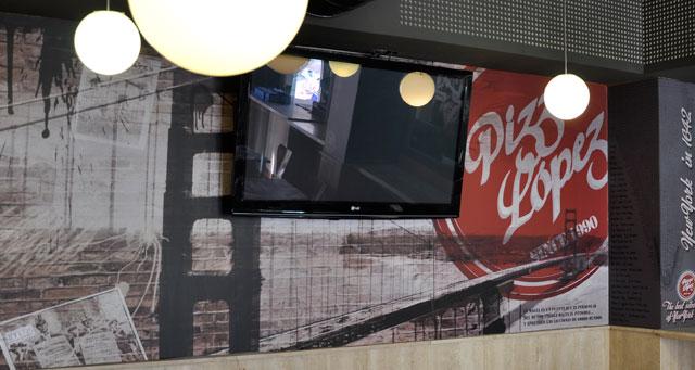 fotomurales decorativos vinilo pared almeria Garaje Grafico