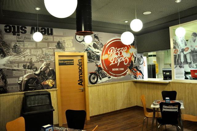 decoracion locales almeria impresion en vinilo restaurante