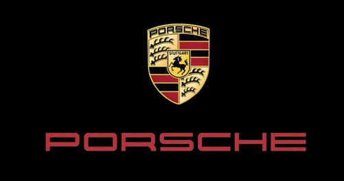 logotipo de marcas porsche