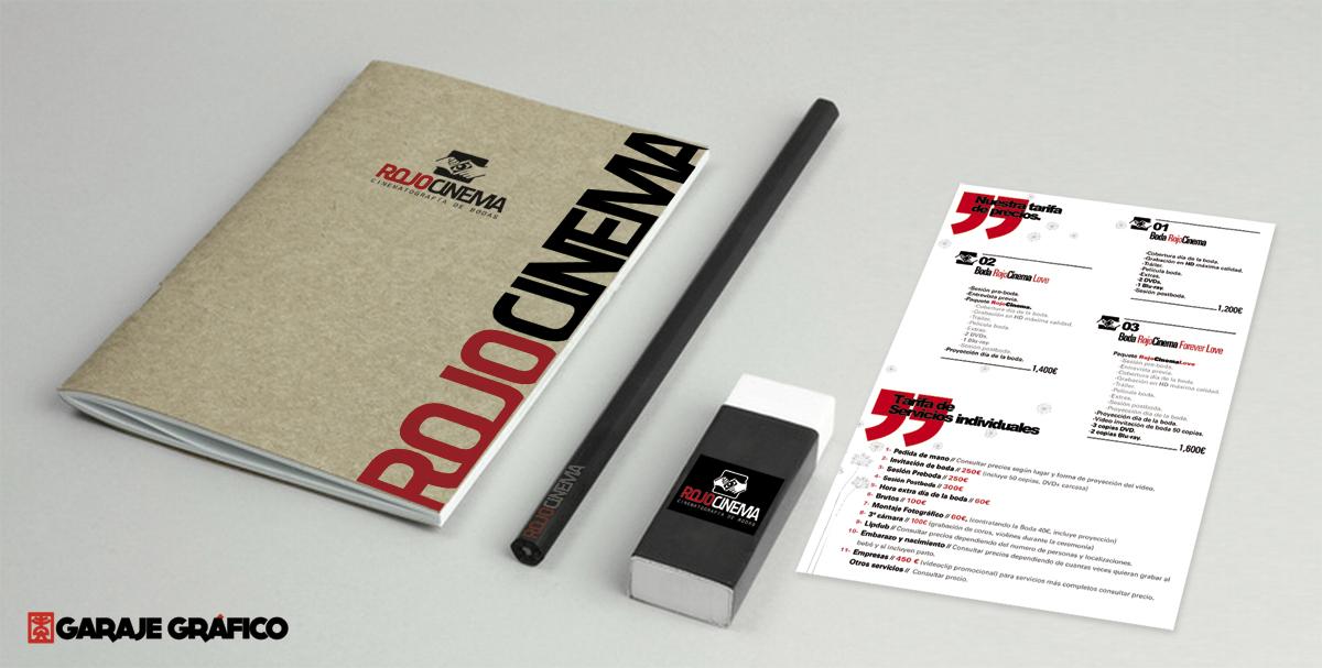 diseño papeleria Garaje Grafico