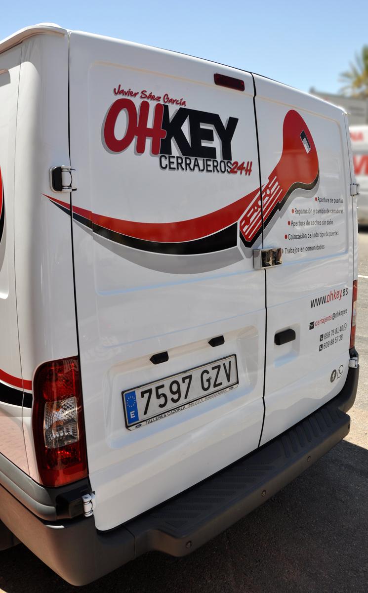 rotulación publicitaria furgoneta almeria