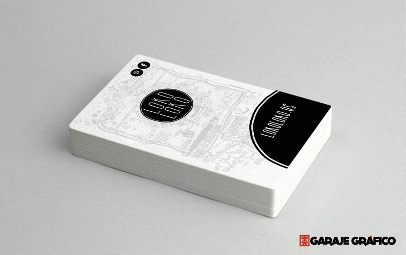 tarjetas de diseño grafico lokoloko