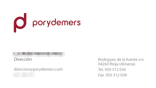 diseño de tarjetas de visita almeria