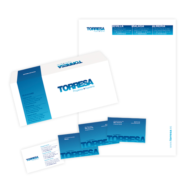 diseño papeleria identidad corporativa