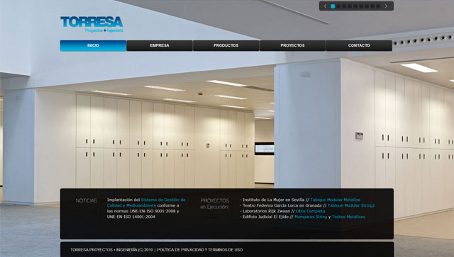 diseño de paginas web Garaje Grafico