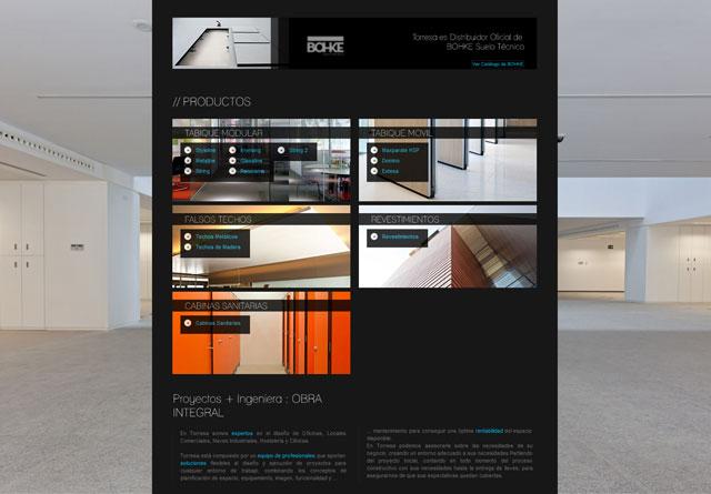 maquetacion pagina web Garaje Grafico