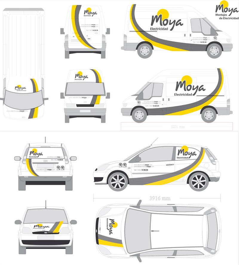 diseño grafico rotulacion furgonetas