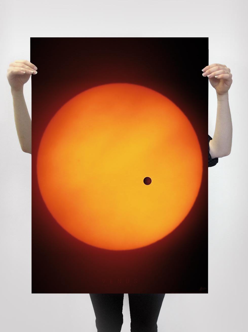 lokoloko poster planetas Garaje Grafico