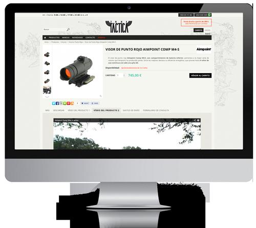 diseño de paginas tienda web
