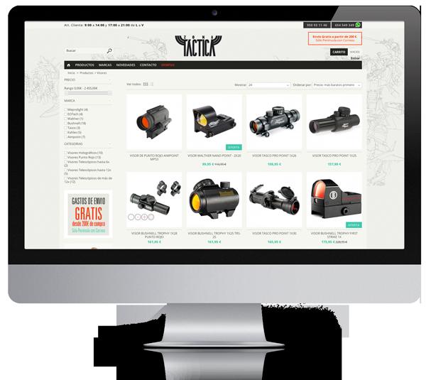 diseño de catalogo tienda web