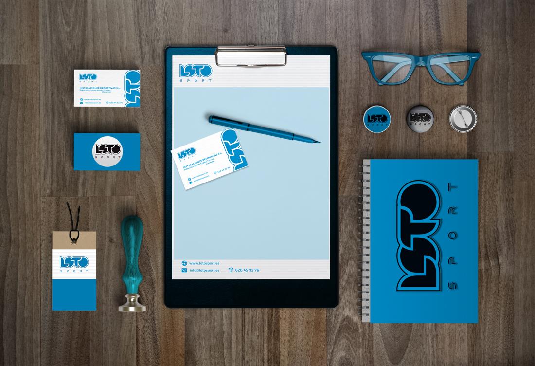 diseño identidad corporativa papeleria