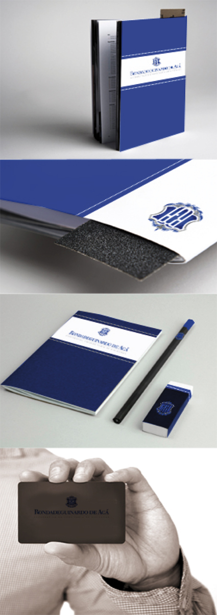 identidad corporativa papeleria