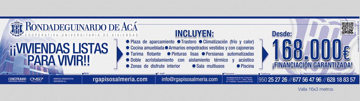 diseño valla publicitaria almeria