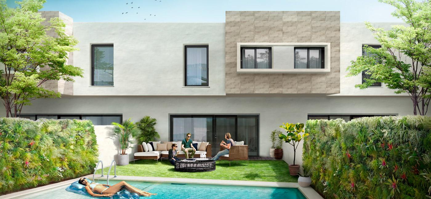 diseño gráfico Almeria, diseño para la venta inmobiliaria, promoción urbanistica