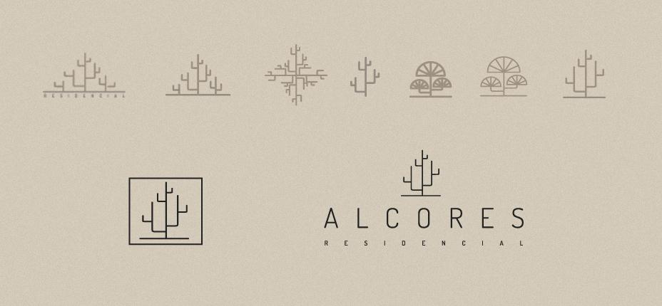 logotipo residencial promoción inmobiliaria diseño gráfico garaje grafico almería
