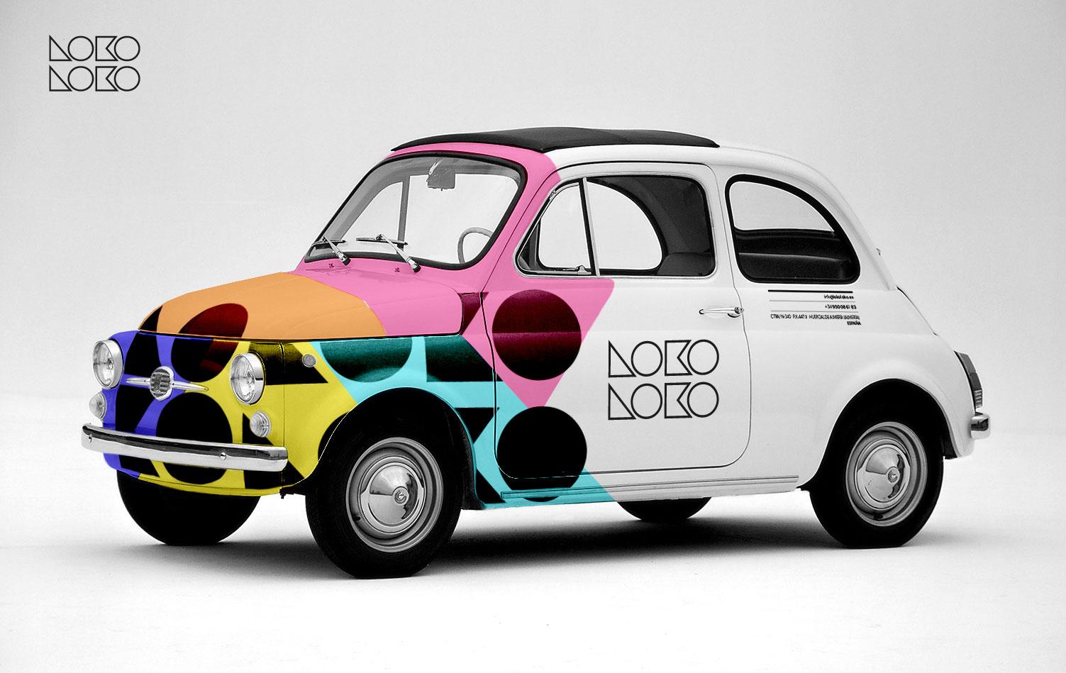 Lokoloko nueva imagen garaje grafico for Logos de garajes